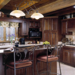 High Peaks Log Homes, kitchen, 2