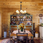 High Peaks Log Homes, dining room