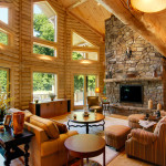 High Peaks Log Homes, great room 2, Barth