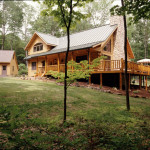 High Peaks Log Homes, log home exteriors, Pennsylvania