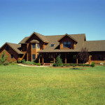 High Peaks Log Homes, log home exteriors, in new jersey