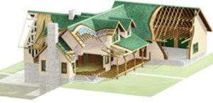 High Peaks Log Homes, weather tight log home package