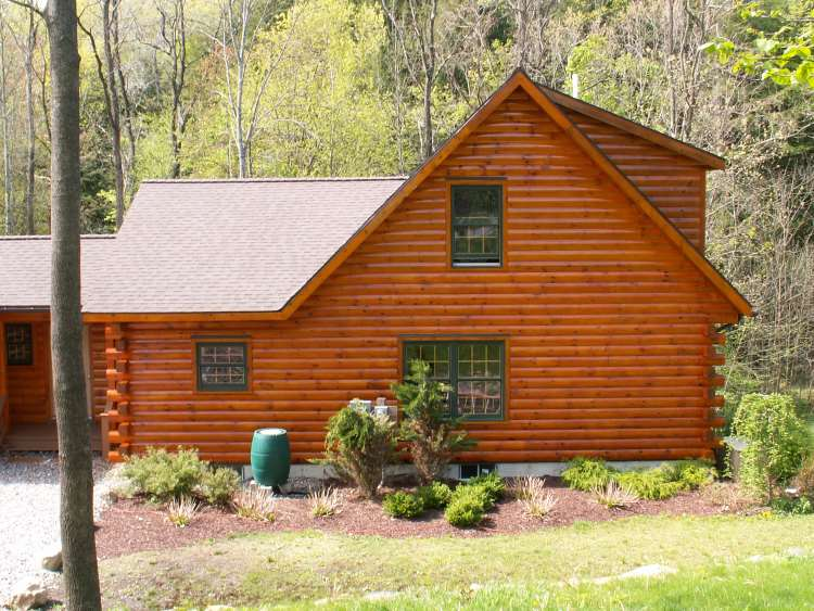 log home stains and products high peaks log homes